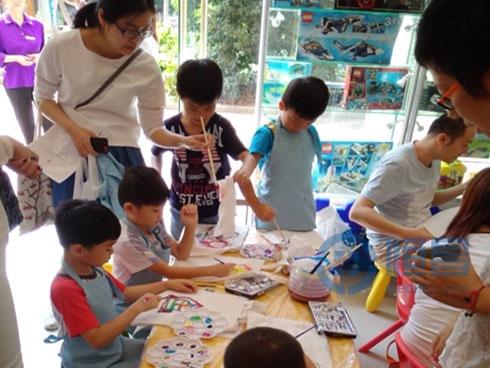 上海第十一分公司环保袋绘画大赛圆满结束